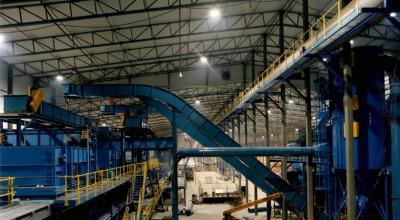 Industrielle Highbayleuchte