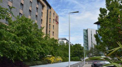 Architektonische Straßenbeleuchtung